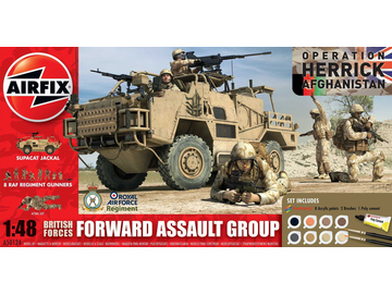 Airfix British Forces - Forward Assault Group (1:48) / AF-A50124
