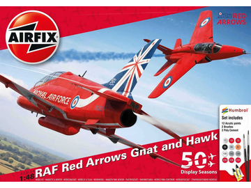 Airfix Red Arrows 50 Display Season (1:48) / AF-A50159