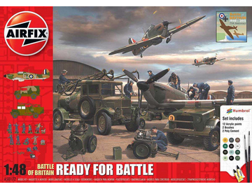 Airfix diorama Battle Of Britain Ready For Battle Set (1:48) / AF-A50172