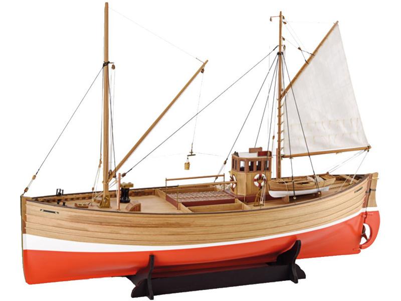 1:32 Fifie 1851 rybářský kutr (stavebnice)