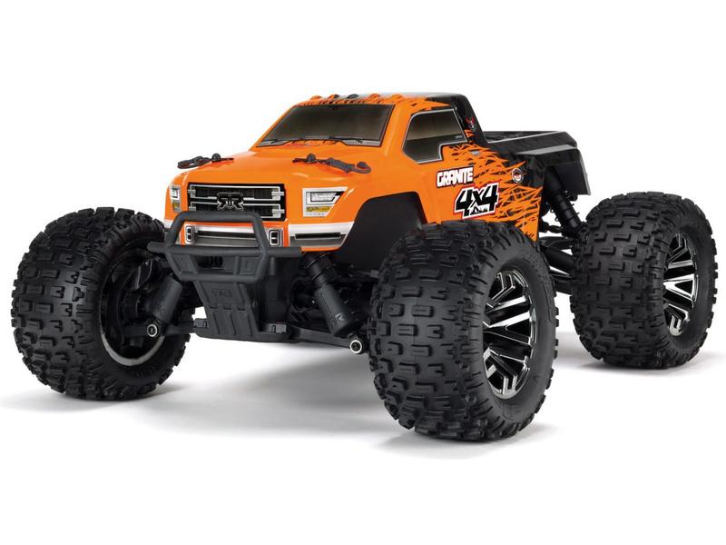 1:10 Arrma Granite 3S BLX 4WD RTR (oranžová)