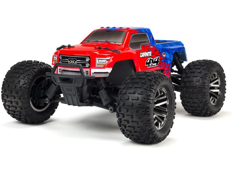 1:10 Arrma Granite 3S BLX 4WD RTR (červená)