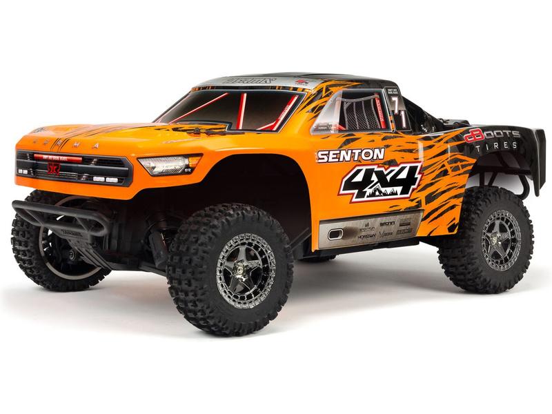 1:10 Arrma Senton 3S BLX 4WD RTR (oranžová)