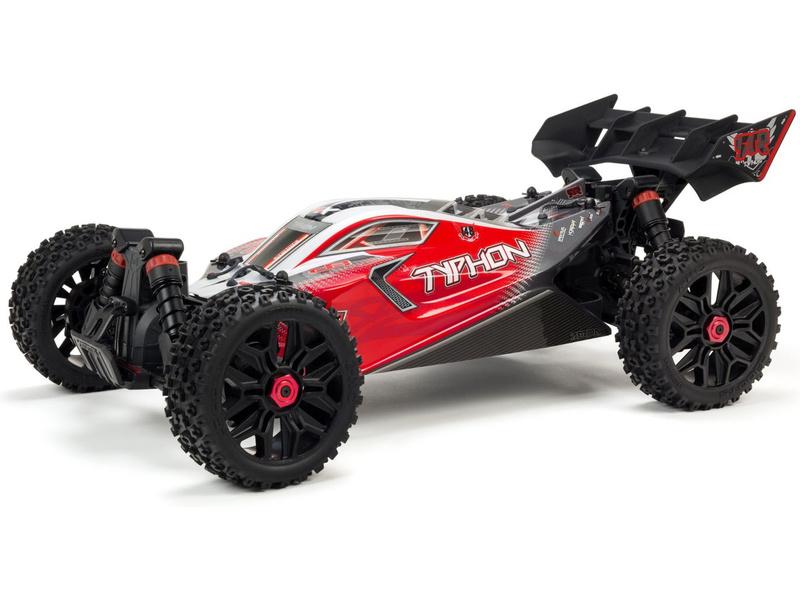 1:8 Arrma Typhon 3S BLX 4WD RTR (červená)