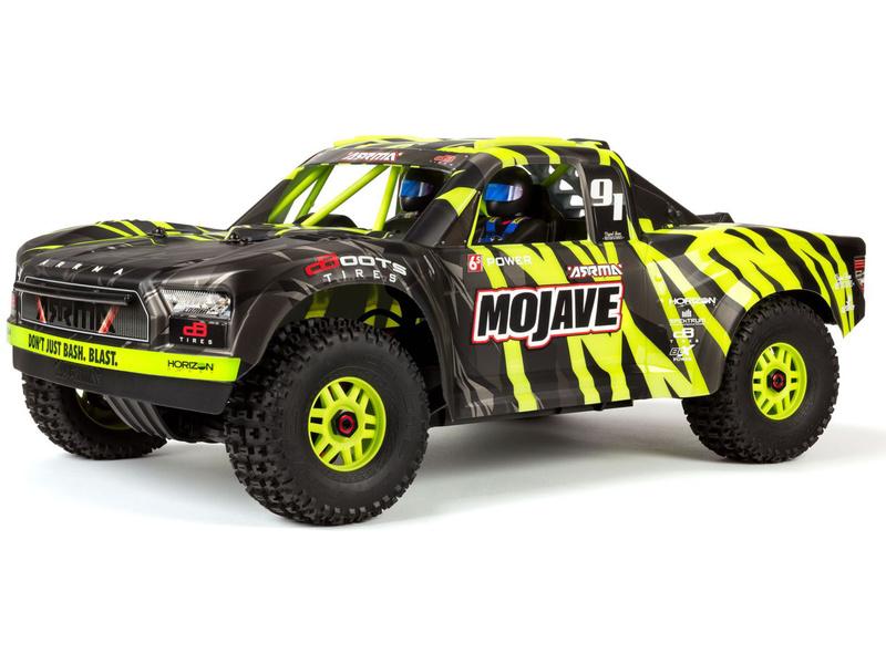 1:7 Arrma Mojave 6S BLX 4WD RTR (zelená)