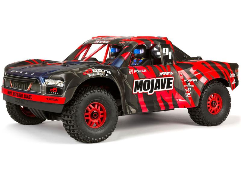 1:7 Arrma Mojave 6S BLX 4WD RTR (červená)