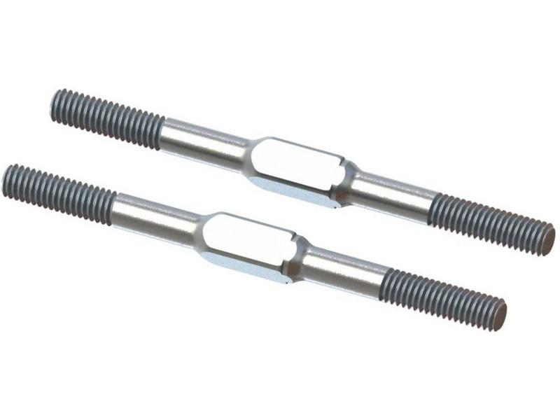 Arrma spojovačka M4x60mm ocel, stříbrná (2)