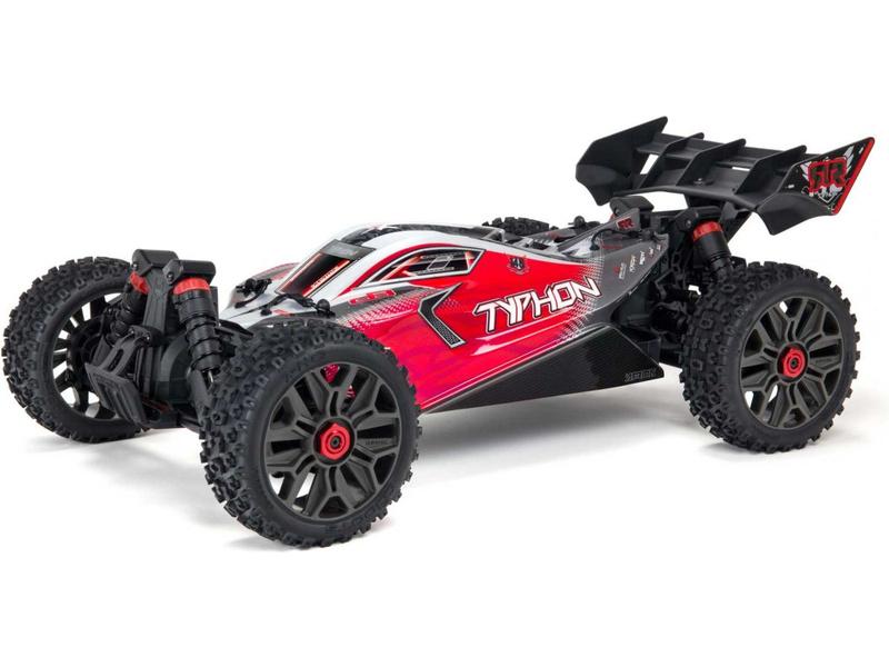 Arrma Typhon 3S BLX 1:8 4WD RTR červená