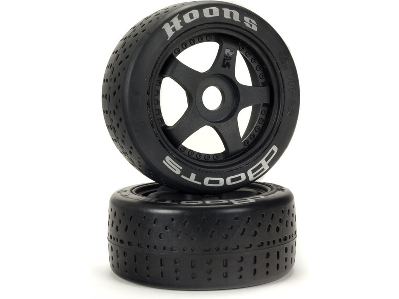 Arrma koleso s pneu 2.9″ dBoots Hoons 42/100, srieborné (2 ks)