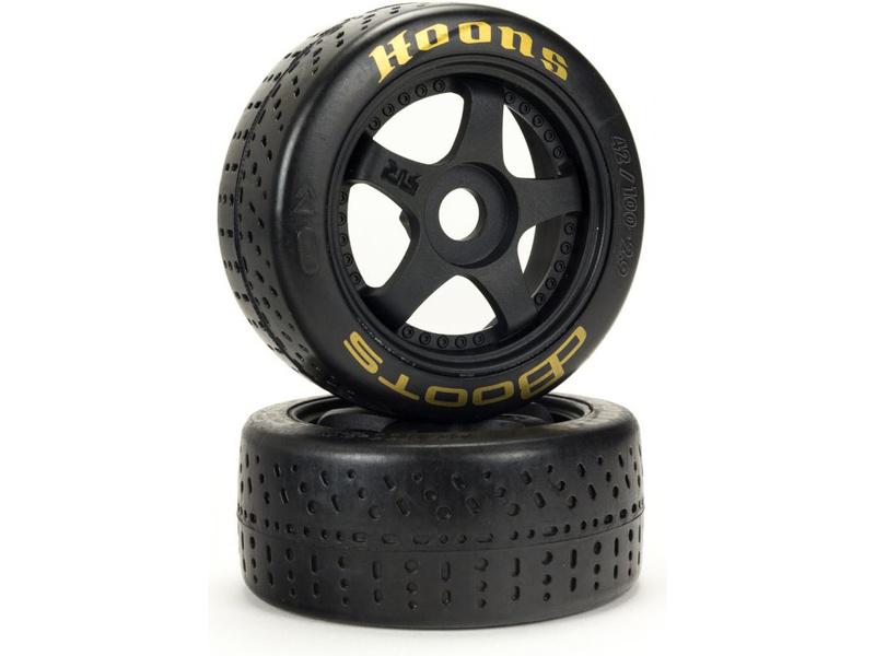 Arrma koleso s pneu 2.9″ dBoots Hoons 42/100, zlaté (2 ks)