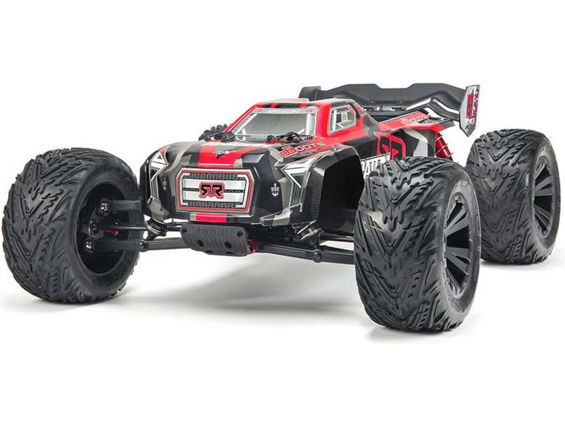 84600582956 Arrma Kraton 6S BLX 1 8 4WD RTR červená (ARAD81LR)