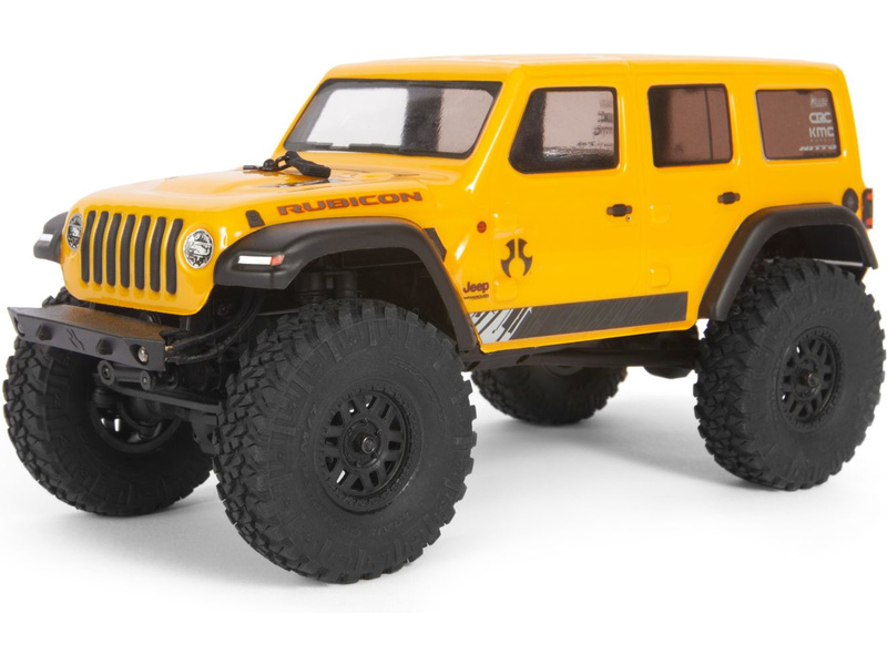 1:24 Axial SCX24 Jeep Wrangler JLU CRC 2019 4WD RTR (Yellow)