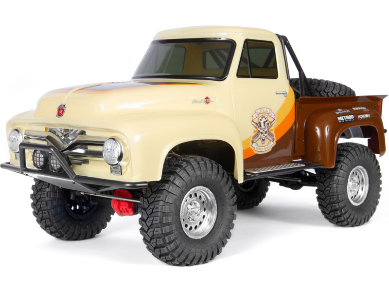 1:10 Axial SCX10 II Ford F-100 1955 4WD RTR (hnedý)