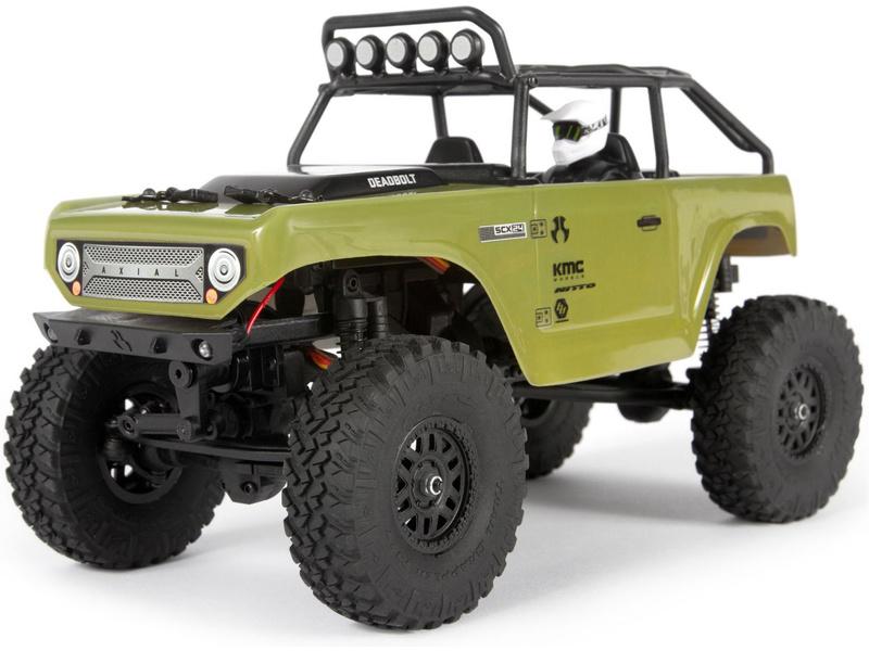 1:24 Axial SCX24 Deadbolt 4WD RTR (zelený)