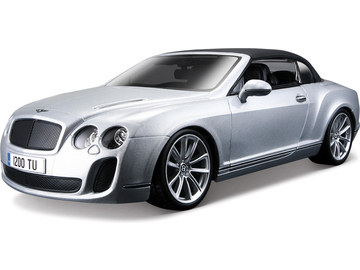 Bburago Plus Bentley Continental Supersports 1:18 stříbrná / BB18-11037