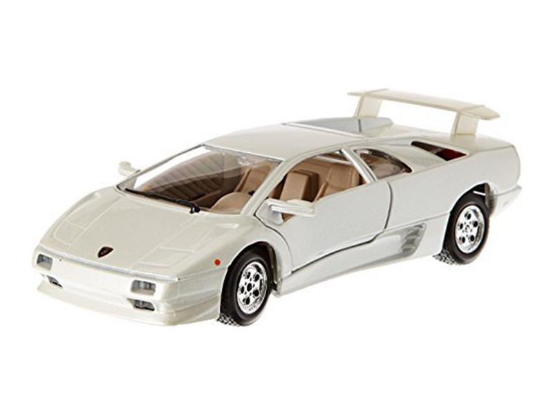 Bburago 1 24 Lamborghini Diablo White Metal Model Bb18 22086w