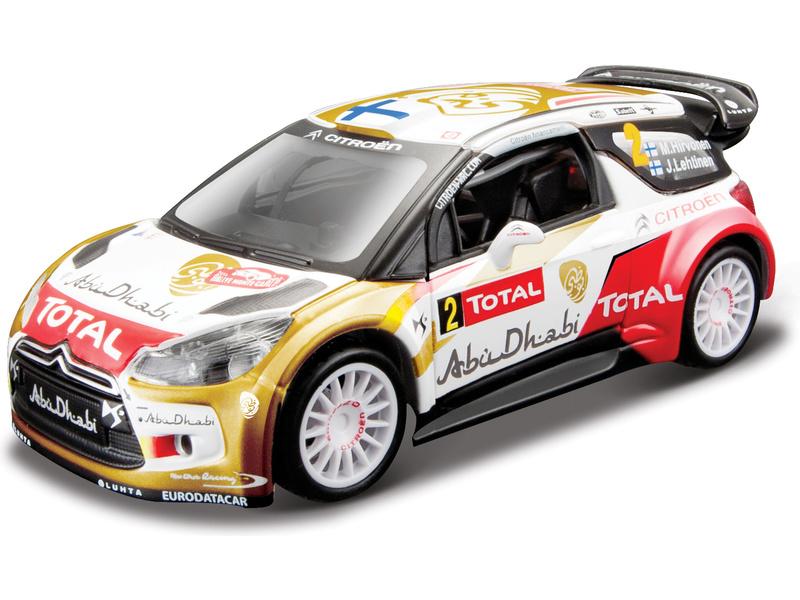 Bburago Citroen DS3 WRC 2013 1:32 Mikko Hirvonen