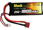 Black Magic LiPol 7.4V 1800mAh 25C Deans