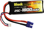 Black Magic LiPol 7.4V 1800mAh 25C EC3