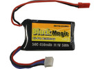 LiPol Black Magic 11.1V 450mAh 50C JST