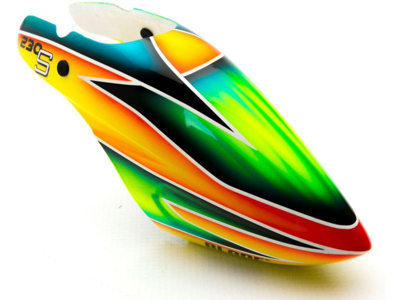 Blade 230 S: Kabina oranžová