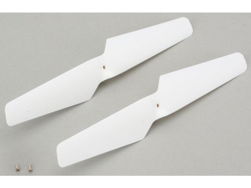 Náhľad produktu - BLADE mQX: Vrtule po směru h.r. bílá