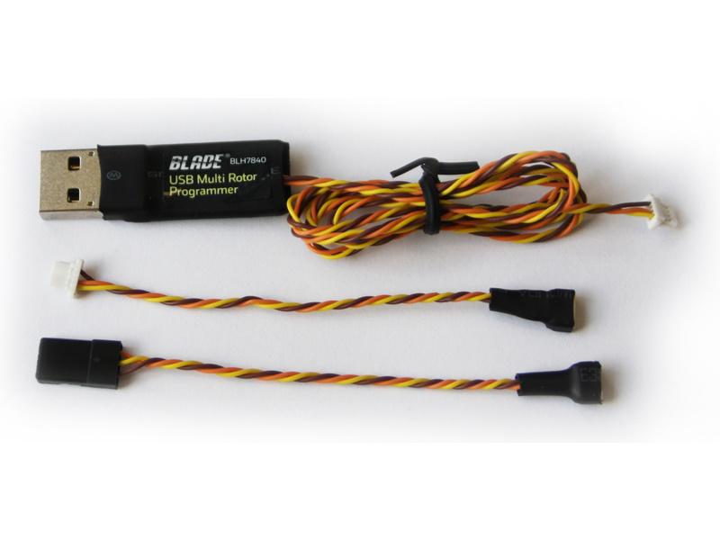 Produkt anzeigen - Blade 350QX/200QX: USB-Interface pro programování
