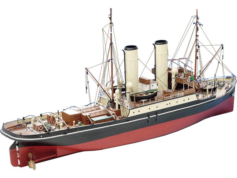 CALDERCRAFT Resolve Ocean Steamer 1:48 kit (KR-27024) | Astra
