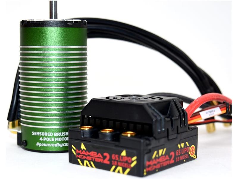 Castle motor 1515 2200ot/V senzored, reg. Mamba Monster 2