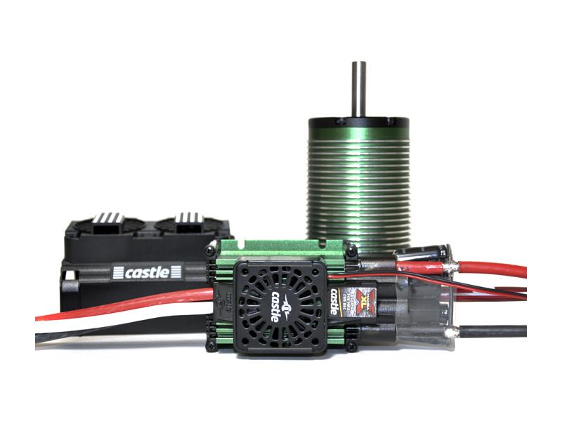 Castle motor 2028 800ot/V s reg. Mamba XLX