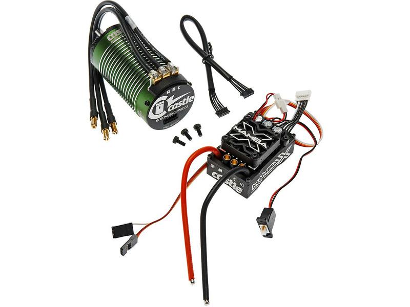 Castle motor 1515 2200ot/V senzored, reg. Mamba X