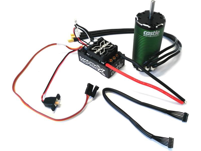 Castle motor 1415 2400ot/V senzored 5mm, reg. Mamba X