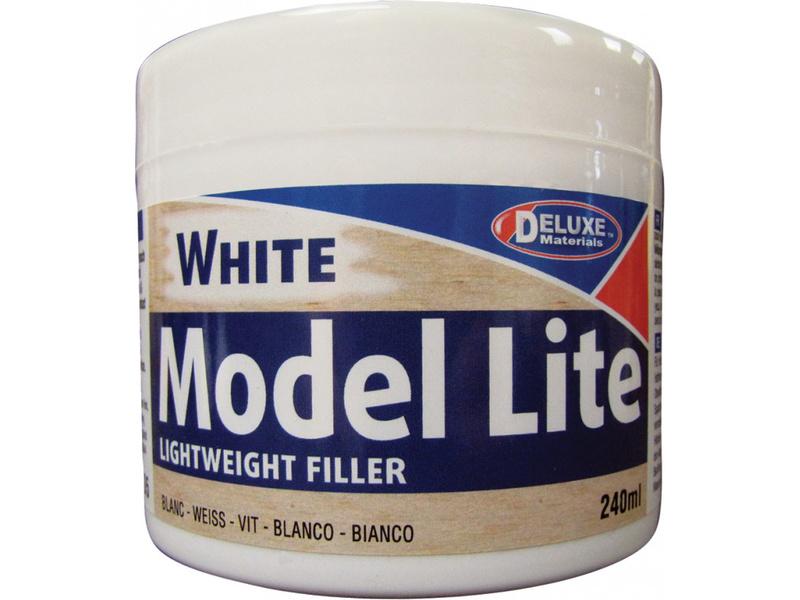 Model Lite White lehký tmel na dřevo, barva bílá (240 ml)