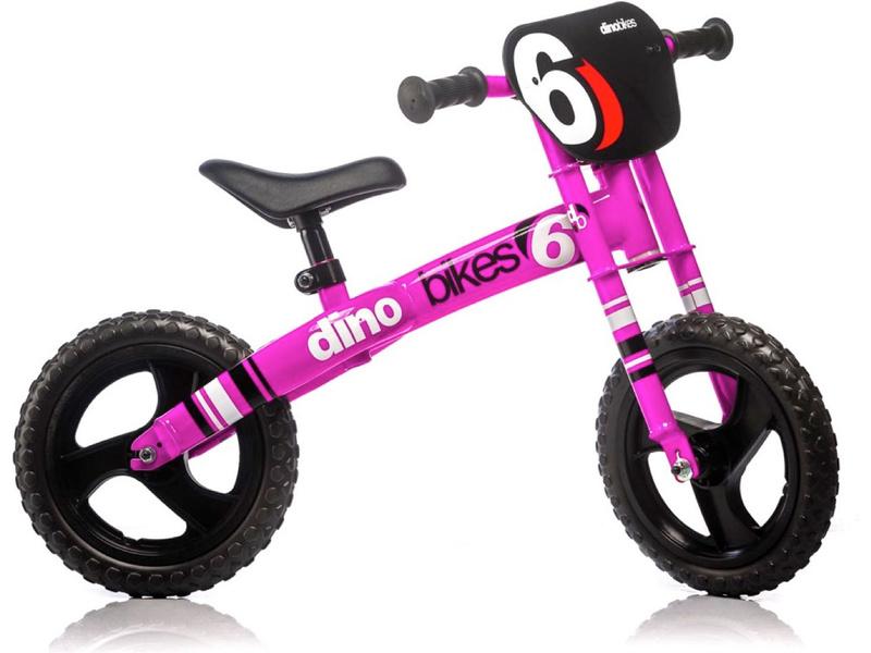 DINO Bikes - Dětské odrážedlo růžové