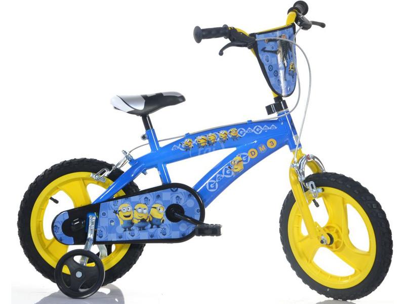 DINO Bikes - Dětské kolo 16″ BMX Mimoni