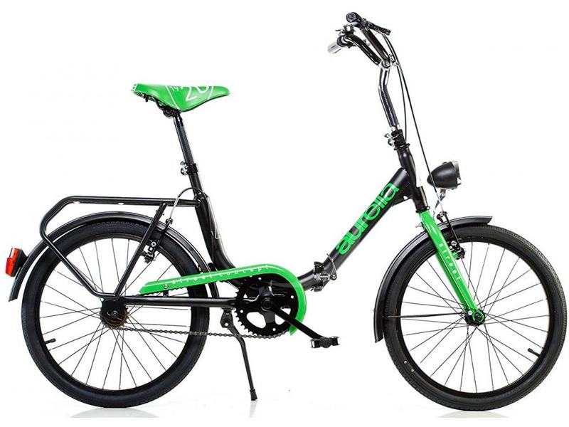 DINO Bikes - Dětské kolo 20″ Aurelia skládací zelené