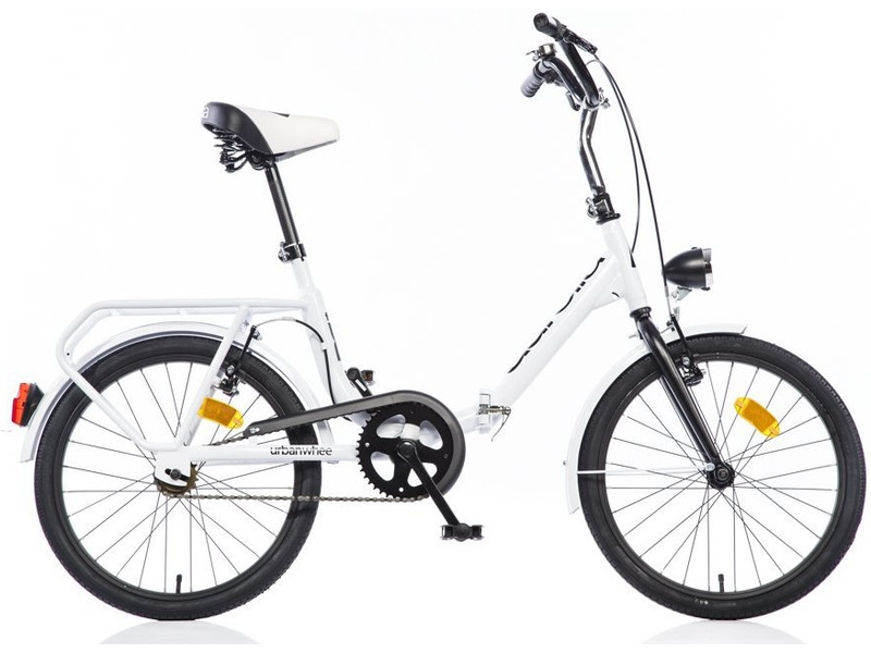 DINO Bikes - Dětské kolo 20″ Aurelia skládací bílé