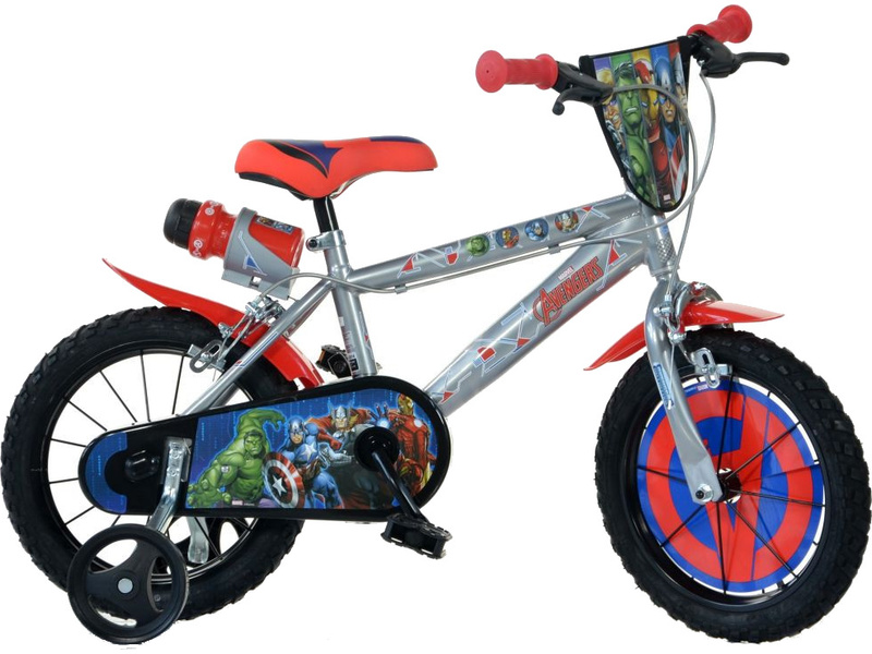 DINO Bikes - Dětské kolo 16″ Avengers