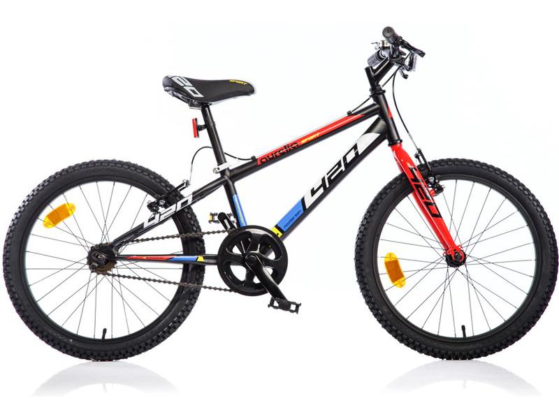 DINO Bikes - Dětské kolo 20″ Aurelia 420 Sport (černé)