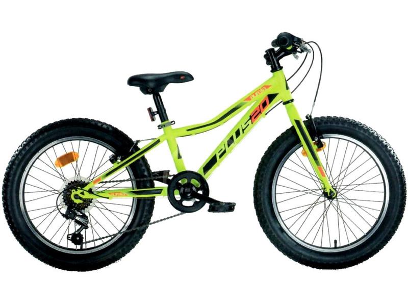 DINO Bikes - Dětské kolo 20″ Aurelia 420 zelená