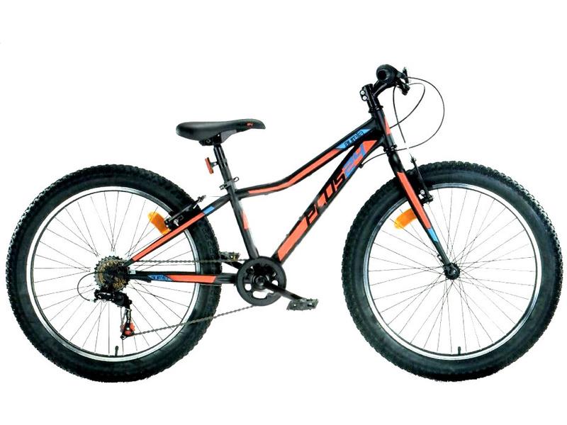 DINO Bikes - Dětské kolo 24″ Aurelia 424 černá