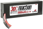 LiPol Reaction Car 7.4V 5000mAh 30C HC Deans