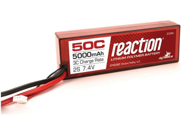 LiPol Reaction Car 7.4V 5000mAh 50C HC EC3 / DYNB3802EC