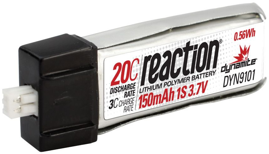 Reaktion LiPo 3.7V 150mAh 20C Micro Air