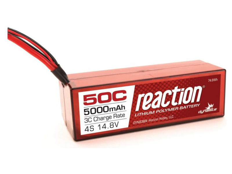 LiPol Reaction Car 14.8V 5000mAh 50C HC EC5