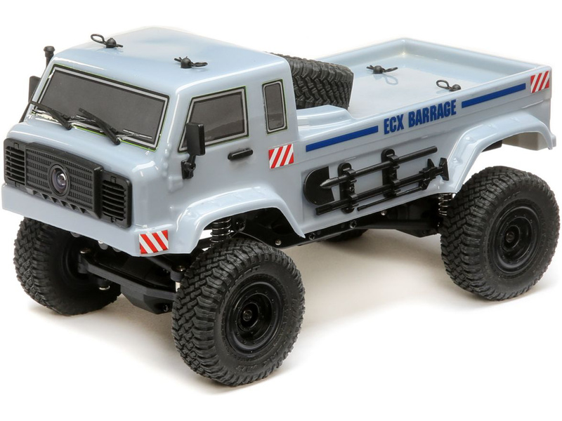 1:24 ECX Barage UV FPV 4WD RTR (Gray)