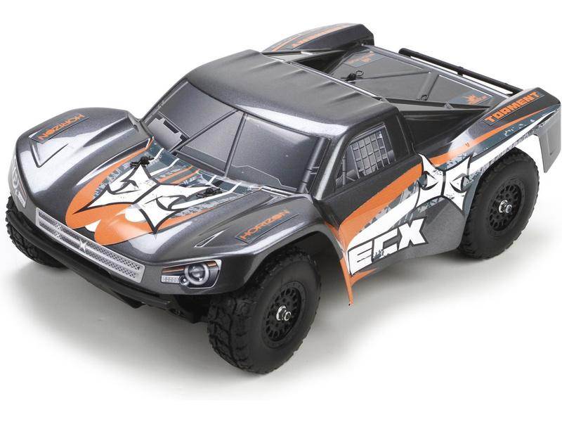 1:18 ECX Torment 4WD RTR (šedá)