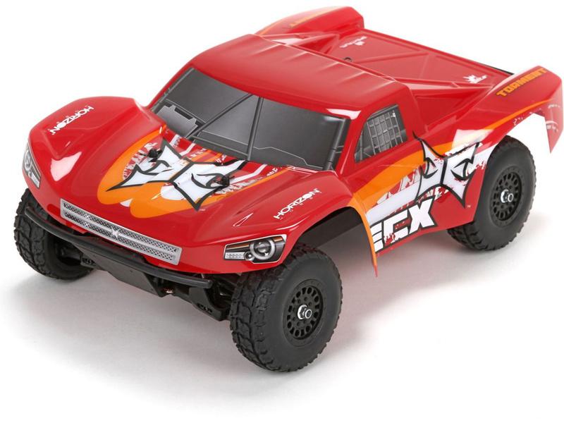 1:18 ECX Torment 4WD RTR (červená)