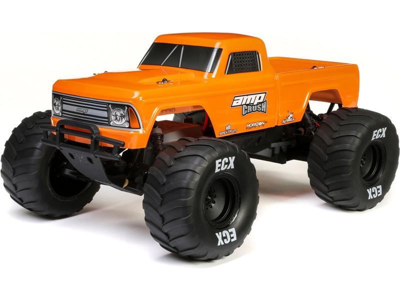 1:10 ECX AMP Crush RTR (oranžový)