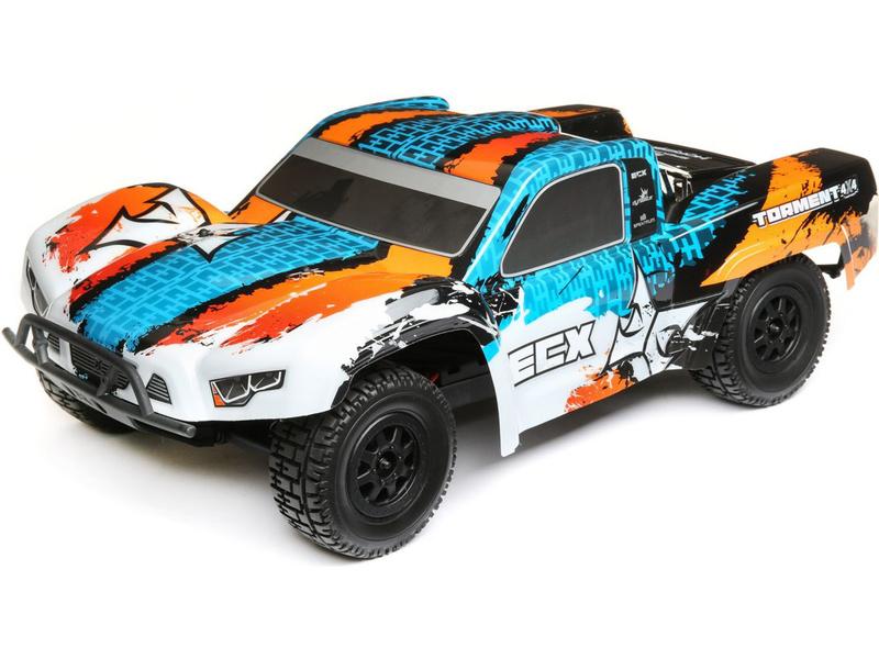 1:10 ECX Torment 4WD RTR (modrá)